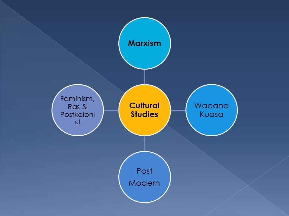  Etnografi ; terkait dengan pendekatan kulturalis dan menekankan kepada pengalaman nyata  Seperangkat pendekatan tekstual ; semiotika, pasca strukturalisme dan dekonstruksi  Study Resepsi/konsumsi : Audien sebagai pencipta aktif makna teks