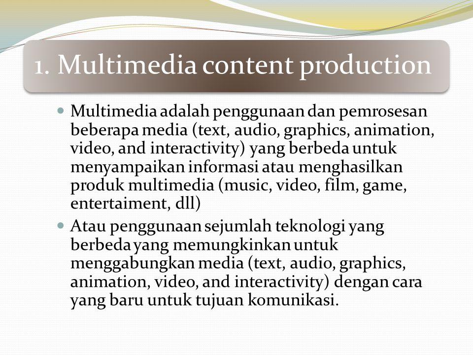Metode untuk mengontrol animasi : 3.