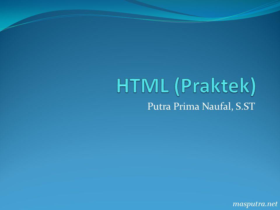 Putra Prima Naufal, S.ST masputra.net