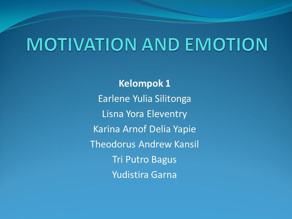 Motivation and Emotion Content Motivasi Emosi Pengertian Pendekatan-pendekatan Teori Motivasi keseimbangan Hirarki keinginan Maslow Hunger(Lapar) Seksualitas Motif sosial kognitif Pengertian Teori emosi Klasifikasi emosi