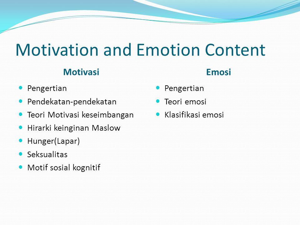 Definisi Motivasi adalah dorongan psikologis yang mengarahkan seseorang ke arah suatu tujuan.