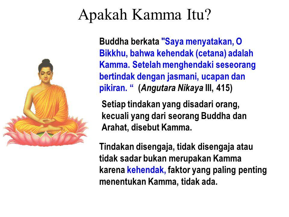 Bergantung pada ketidaktahuan (avijja), muncul tindakan berkehendak (sankhara).