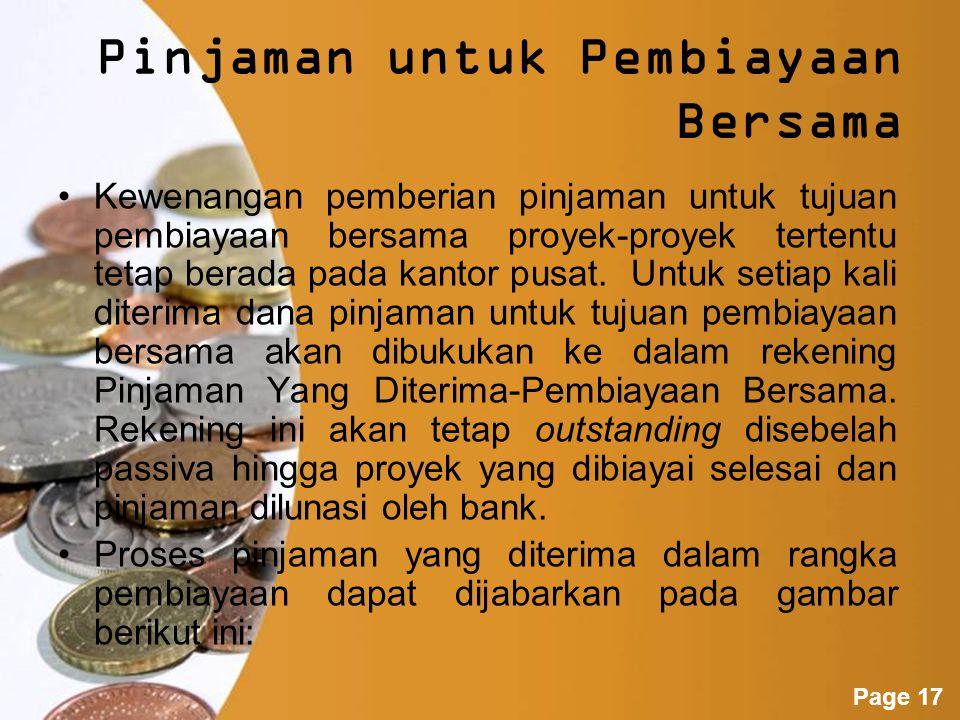 Powerpoint Templates Page 16 Bila ada nasabah yang telah membeli obligasi dari cabang Jakarta sebanyak 10 lembar @Rp 1 juta dengan suku bunga 12% setahun datang ke cabang Surabaya hendak mencairkan obligasi tersebut pada akhir bulan kedua sebelum bunga dibayarkan.