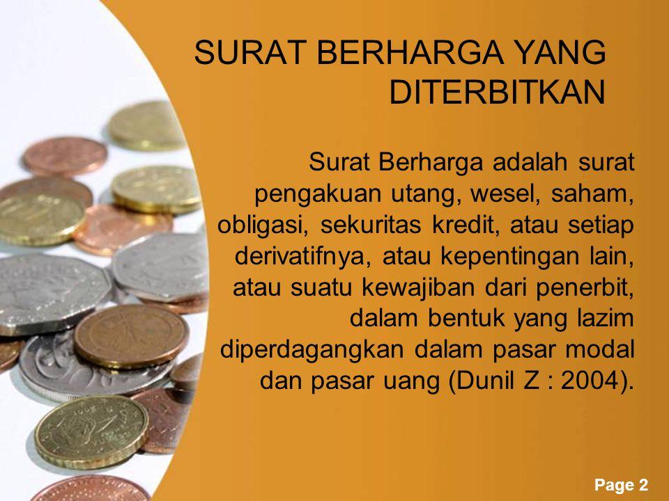 Powerpoint Templates Page 1 Akuntansi Sumber Dana Kelompok 3 : Rosdianica Dewi L (0806304) Elva Alviya Fauziyah (0806418) Aditya Nugraha (0703792) Lina Winarsih (0803021) Mahesha Desta (0800999) Vienanty Rahmawati M (0800241)