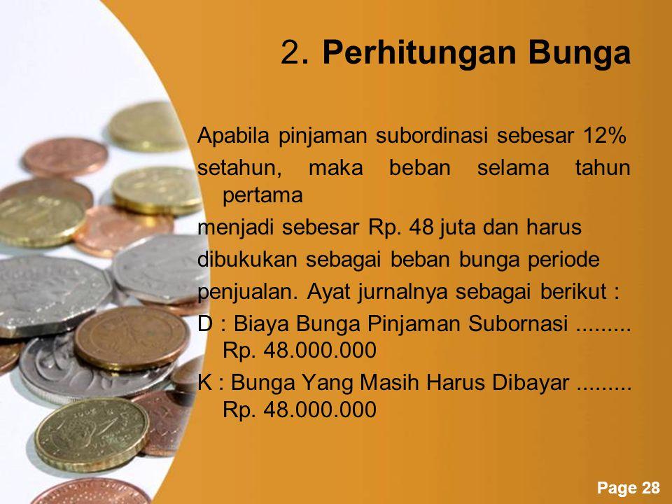 Powerpoint Templates Page 27 Akuntansi Untuk Pinjaman Subordinasi 1.