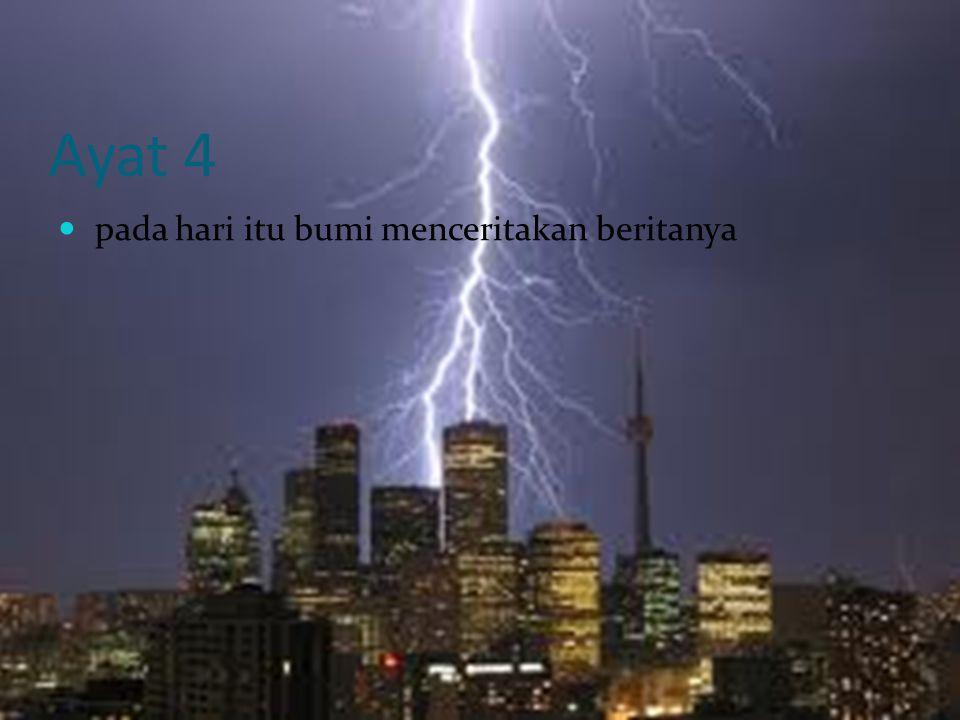 ayat 5 karena sesungguhnya Tuhanmu telah memerintahkanyang sedemikian itu kepadanya