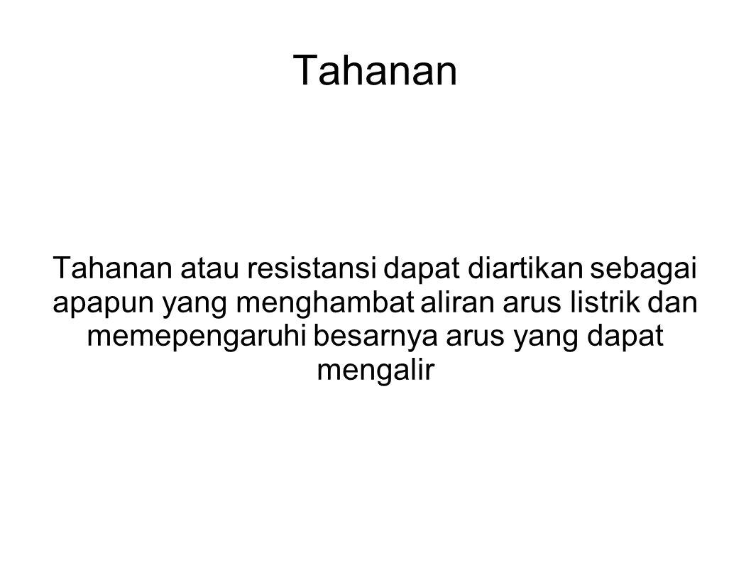 Hukum Ohm Hukum Ohm menerangkan bahwa hubungan antara tegangan, arus dan resistensi.