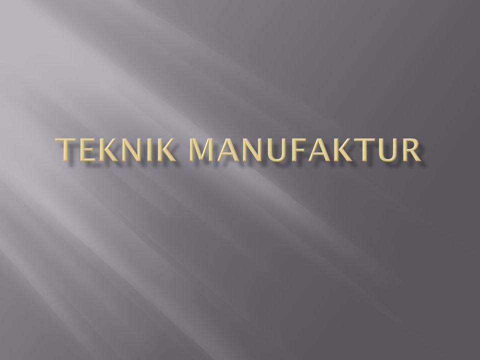  Definisi : Merupakan perancangan proses produksi sebuah produk.