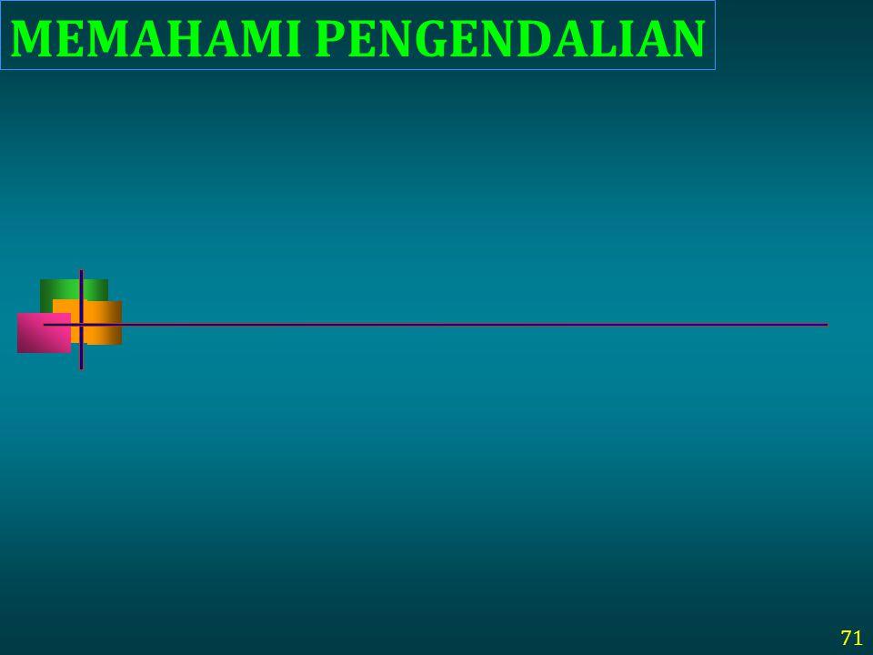 MEMAHAMI PENGENDALIAN 71