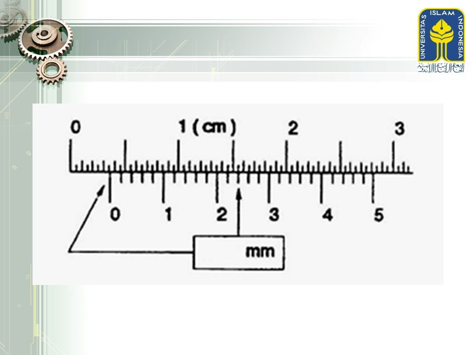 Diameter penampang dijadikan ukuran toritis tepat, penampang ini terletak dalam batas-batas tertentu terhadap bagian kiri bendanya