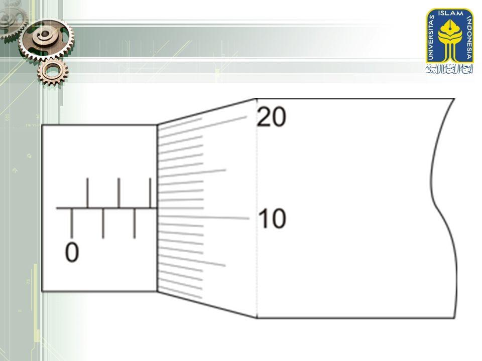 KETERANGAN GAMBAR  Ukuran dasar nominal  Ukuran yang tertulis pada gambar  Toleransi  Perbedaan antara ukuran maksimum yang diizinkan dengan ukuran minimal yang dizinkan  Ukuran maksimal  Penjumlahan antara ukuran dasar dan penyimpangan atas