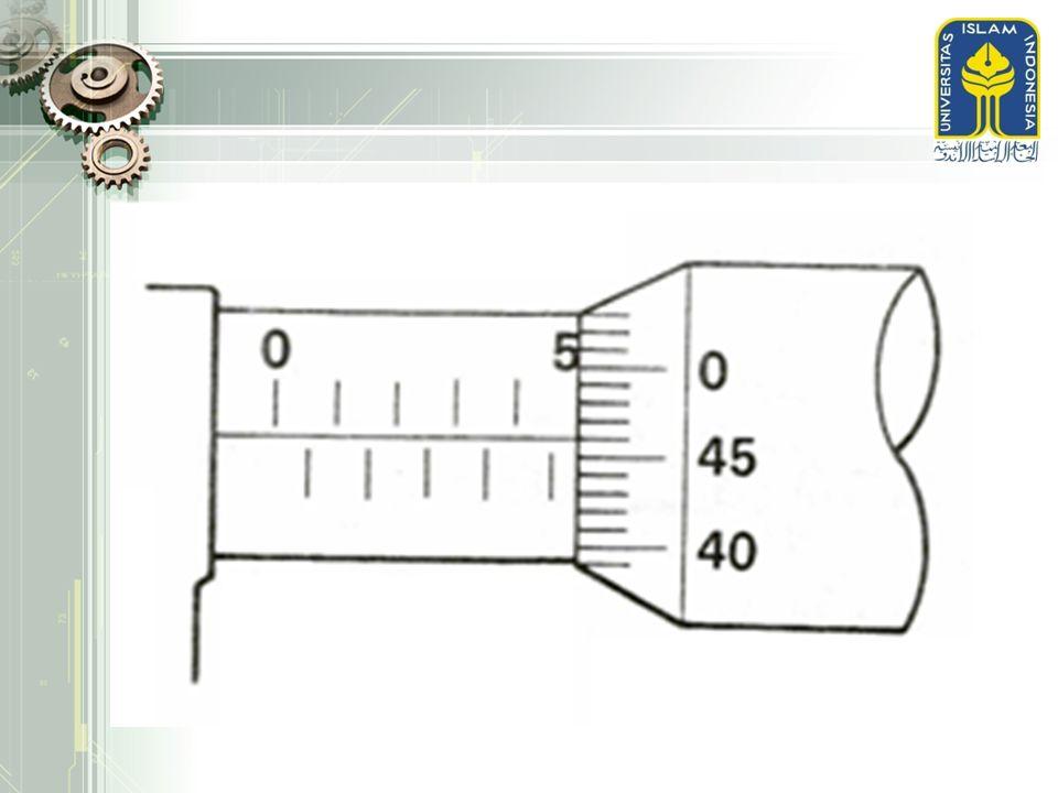 CARA II: CARA TOLERANSI KETIRUSAN  Hanya berlaku untuk penampang yang ukurannya tertera pada gambar dantidak untuk tiap penampang  Ketelitian ketirusan diperinci langsung oleh toleransi ketirusan  Contoh:  (2,5 ± 0,5) : 10  (1 ± 0,1) : 25  (20 ± 0,5) %
