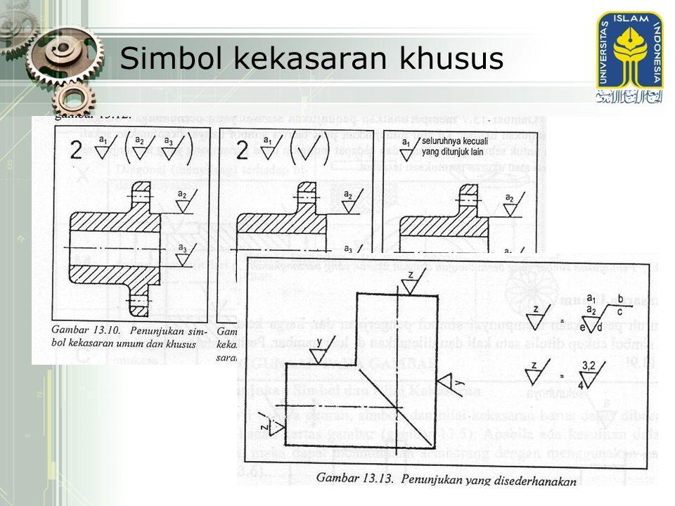 Simbol kekasaran khusus