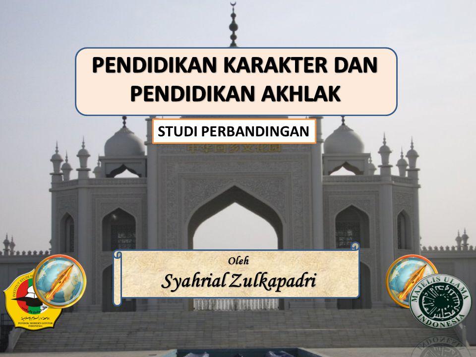 STUDI PERBANDINGAN Oleh Syahrial Zulkapadri