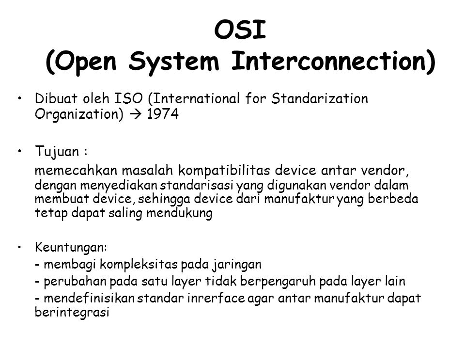 Session Physical Transport Network Data Link Presentation Application Tujuh Layers .