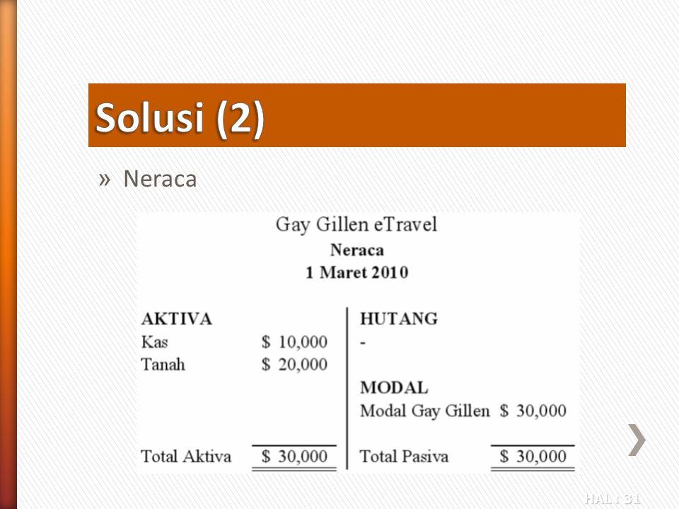 HAL : 31 » Neraca