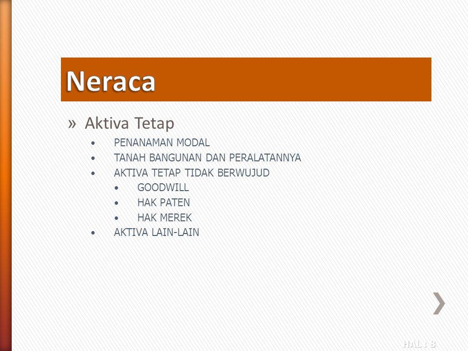 HAL : 29 » Neraca