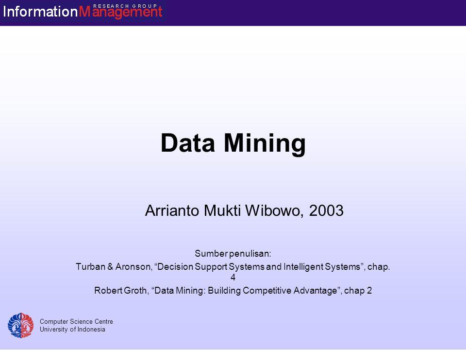 Alasan Dulu analisa data dilakukan dengan cara memasukkannya ke dalam model.