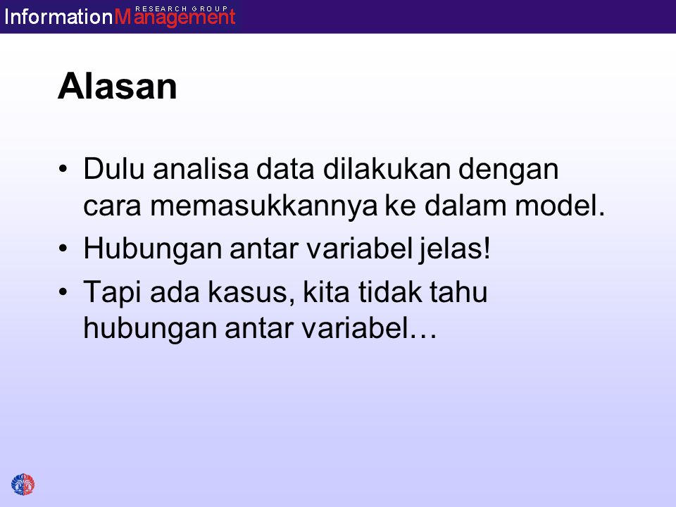 Data Mining Term used to describe knowledge discovery in databases.