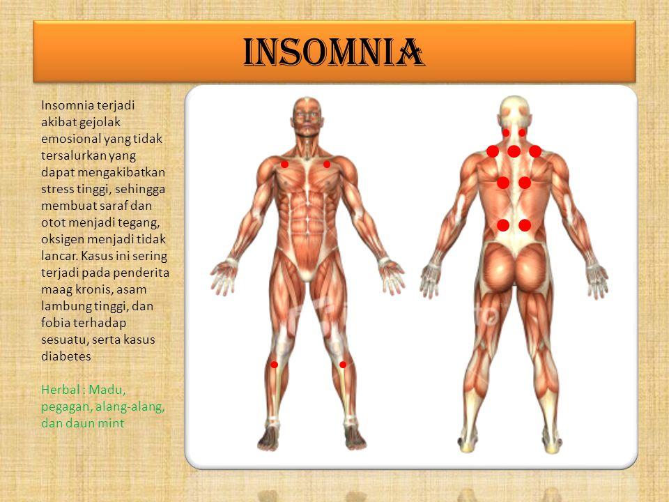 LEMAH SYAHWAT Lemah syahwat terjadi akibat lemahnya ginjal, tidak optimalnya adrenalin, stres, kelelahan. Bagus sekali bila diawali dengan totok wajah