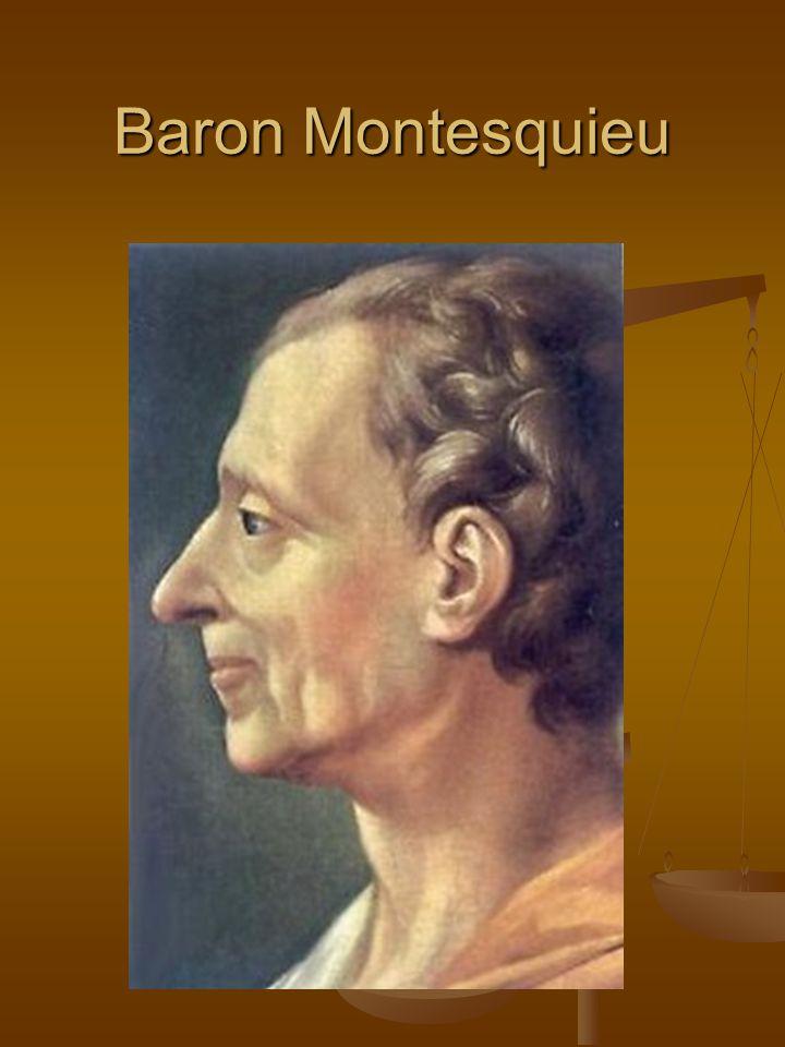 PEMBAGIAN KEKUASAAN Konsep Trias Politica pertama (pembagian kekuasaan menjadi tiga) kali dikemukakan oleh John Locke dlm Treaties of Civil Government (1690) dan Baron Montesquieu (1748) dlm L'esprit des Lois (1748).