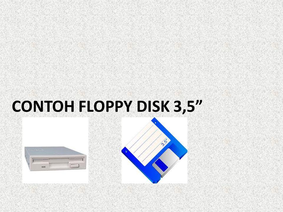 Perangkat keras komputer dan controller floppy-disk-drive mulai menggerakkan motor drive untuk memutar floppy disk.