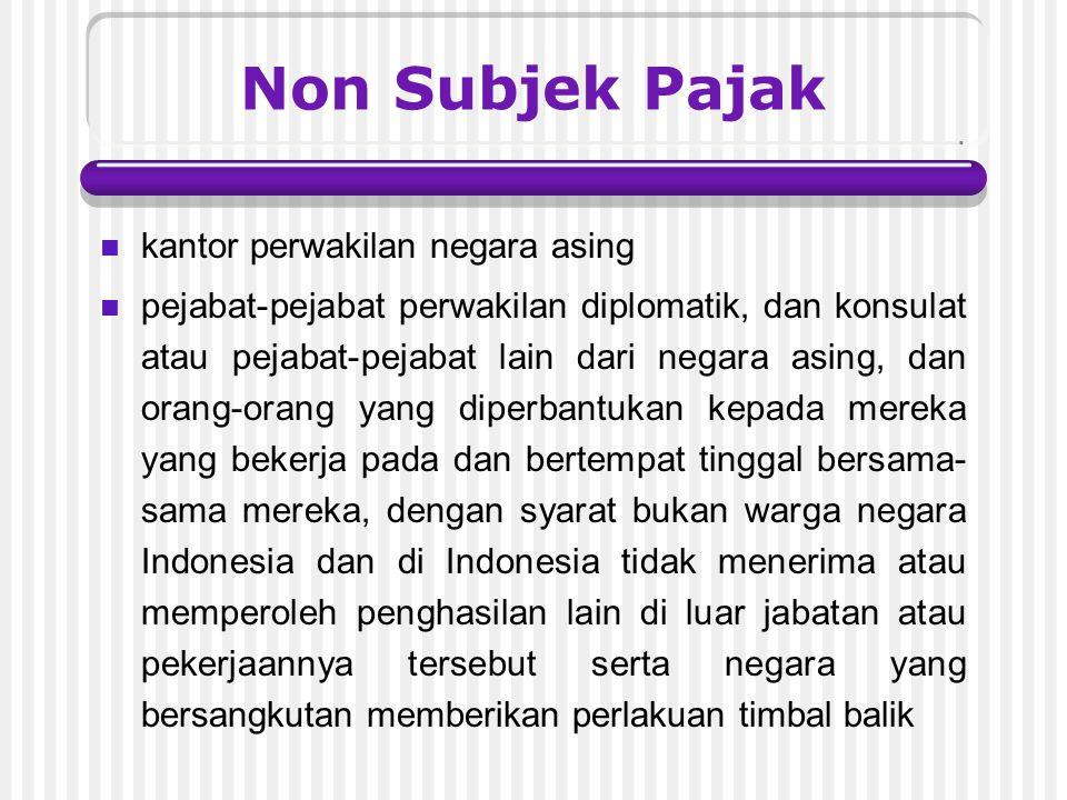 o.agen atau pegawai dari perusahan asuransi yang tidak didirikan dan tidak bertempat kedudukan di Indonesia yang menerima premi asuransi atau menanggu