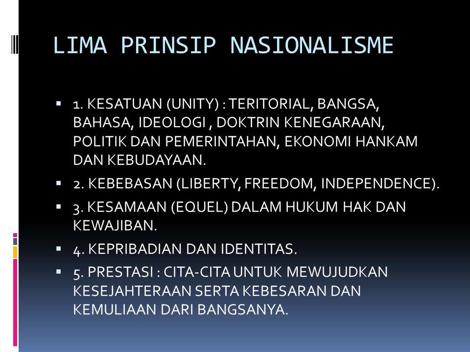 EMPAT TAHAP PERKEMBANGAN NASIONALISME (ORGANSKY) 1.