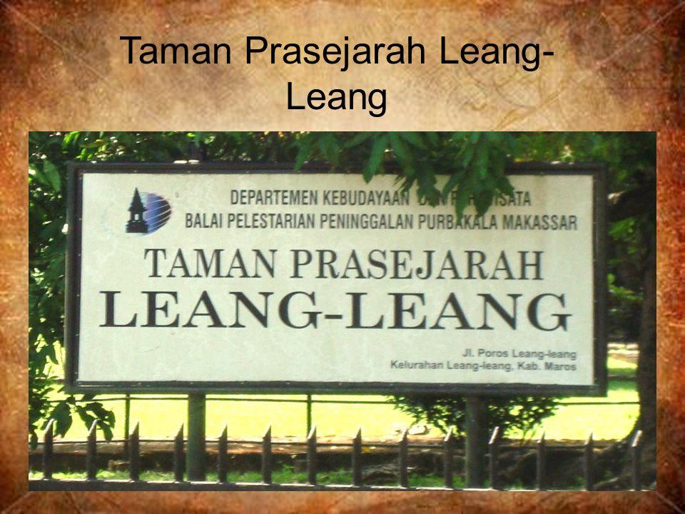 Taman Prasejarah Leang- Leang