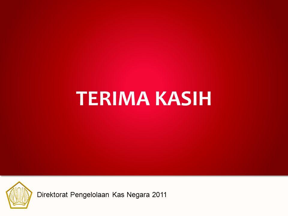 TERIMA KASIH Direktorat Pengelolaan Kas Negara 2011
