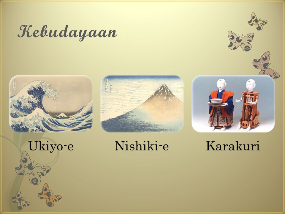Kebudayaan Ukiyo-eNishiki-eKarakuri