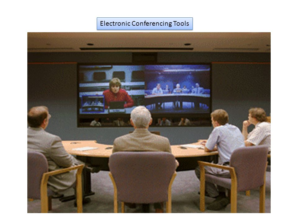 Electronic Conferencing Tools
