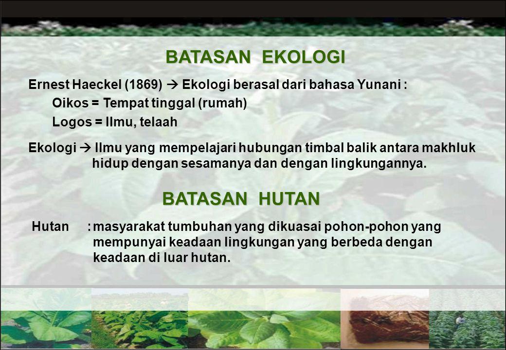 Slide Presentasi Bahan Kuliah dapat di-download pada website: http://cecep_kusmana.staff.ipb.ac.id/lectures-2 9