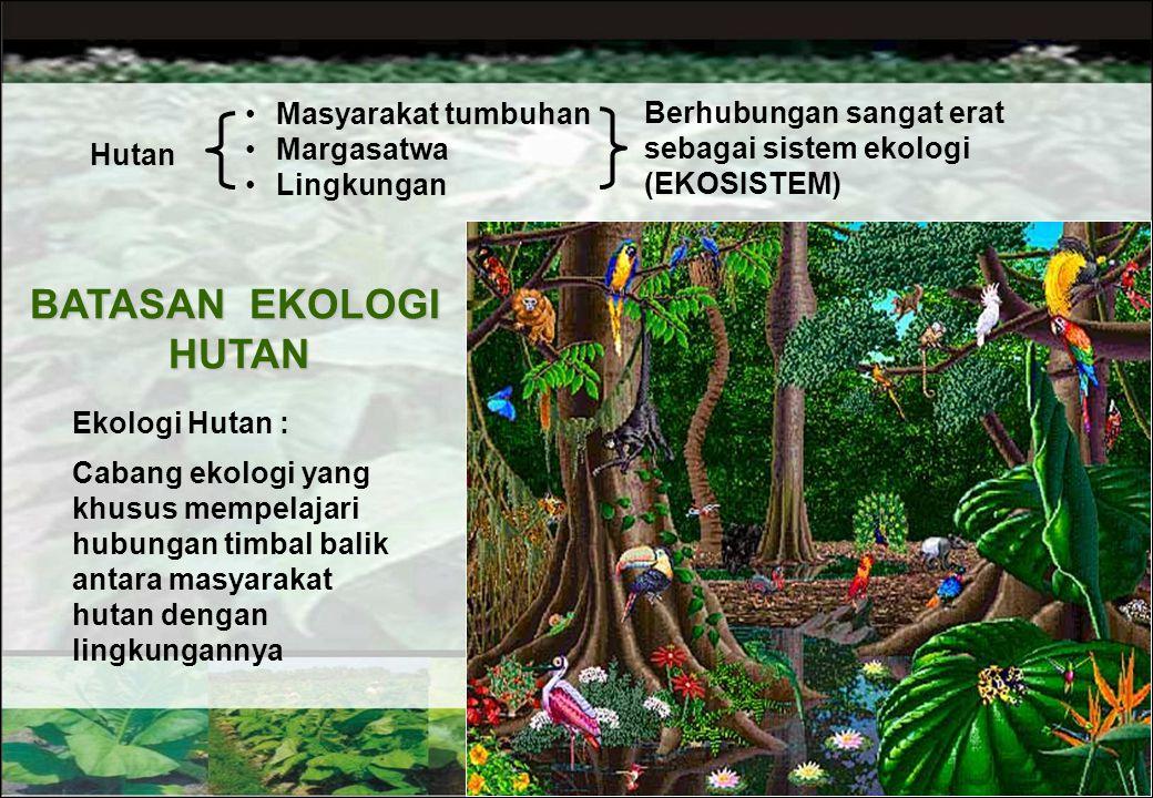 Ernest Haeckel (1869)  Ekologi berasal dari bahasa Yunani : Oikos = Tempat tinggal (rumah) Logos = Ilmu, telaah Ekologi  Ilmu yang mempelajari hubun