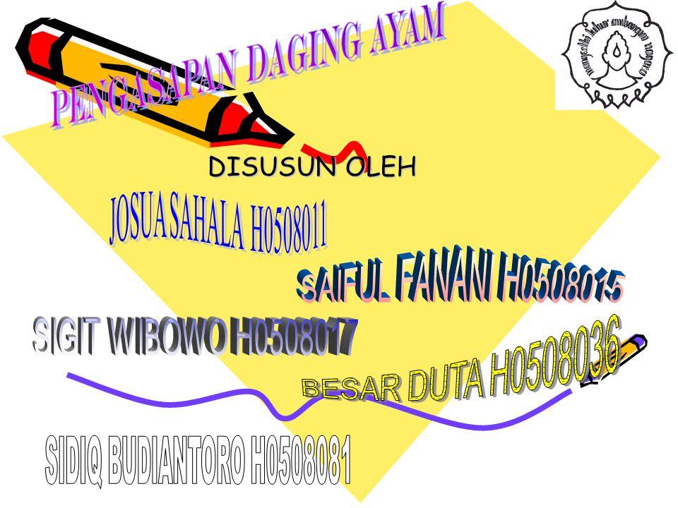 DISUSUN OLEH