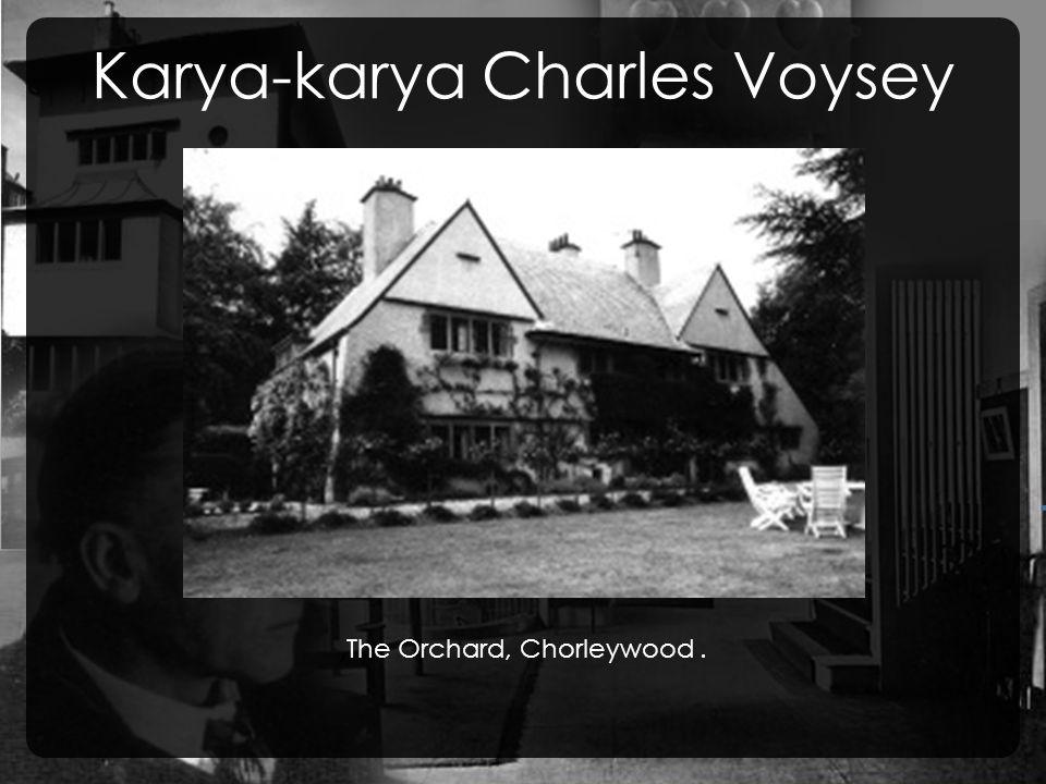 Karya-karya Charles Voysey, The Orchard, Chorleywood.