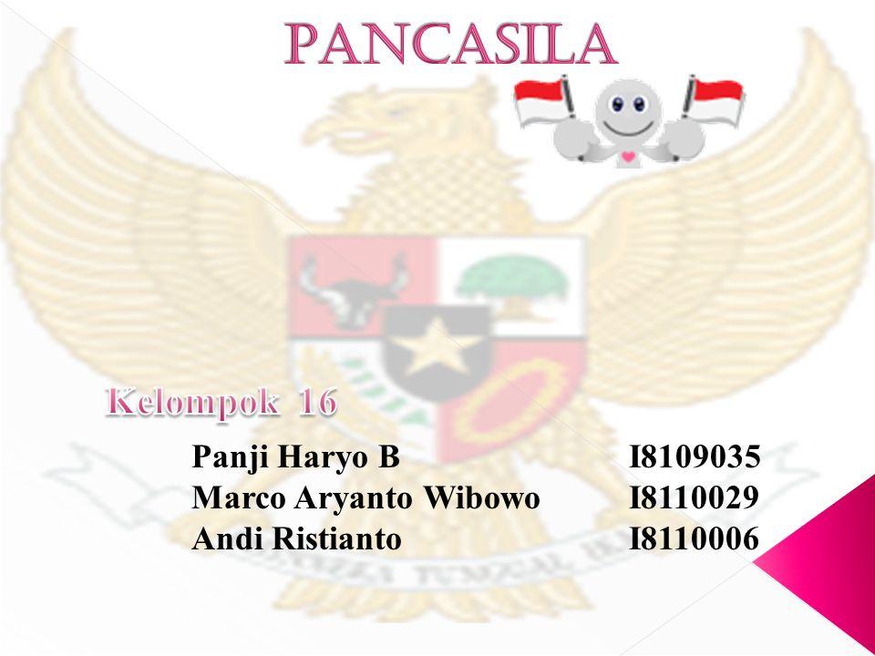 Panji Haryo BI8109035 Marco Aryanto WibowoI8110029 Andi RistiantoI8110006