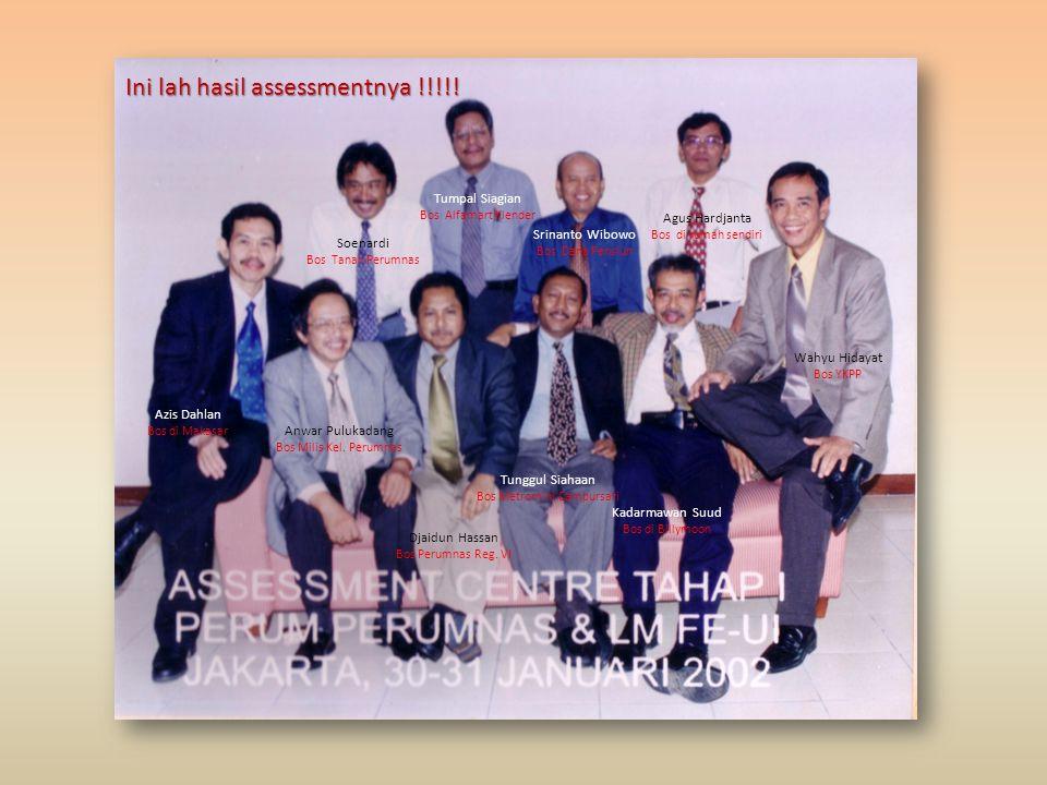 Ini pada saat Kursus Penyegaran Kepemimpinan Unit; beberapa sudah almarhum Saleh A Alibasah Wajad Soewarno Surjadi Djuwarin Bram Kadar Santioso Djasud