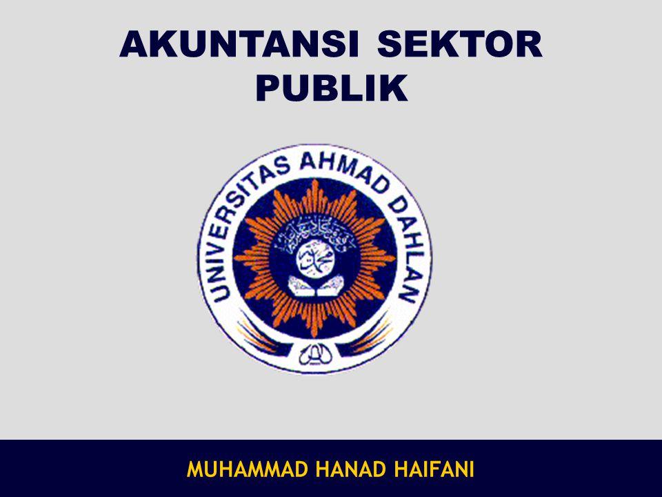 AKUNTANSI SEKTOR PUBLIK MUHAMMAD HANAD HAIFANI