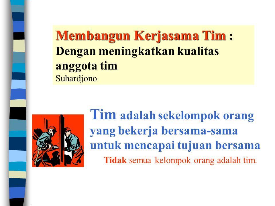 1 Kerjasama dalam TIM Suhardjono