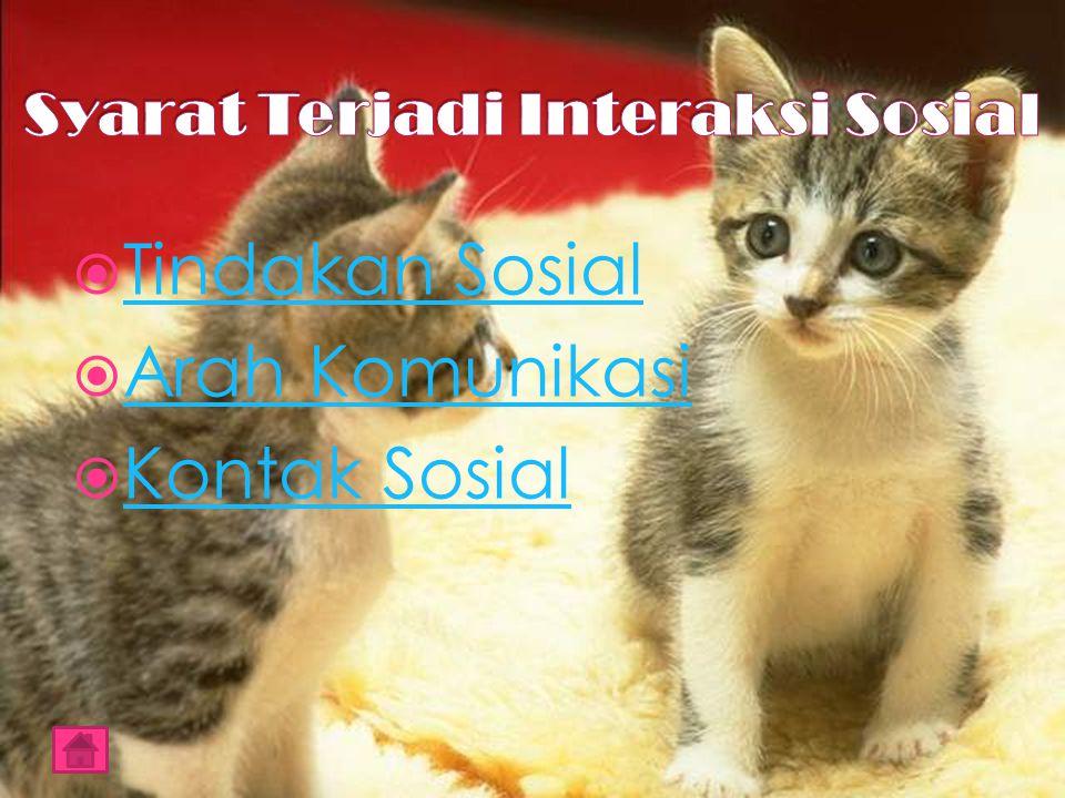  Interaksi sosial yang bersifat asosiatif, yakni yang mengarah kepada bentuk - bentuk asosiasi (hubungan atau gabungan)  Interaksi sosial yang bersifat disosiatif, yakni yang mengarah kepada bentuk - bentuk asosiasi (hubungan atau gabungan)