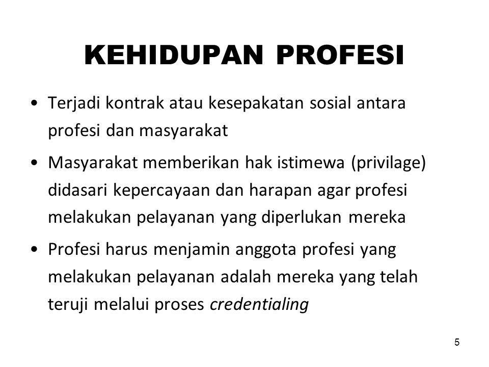 16 LEMBAGA UNTUK MENJAGA PROFESSIONALISME NURSING COUNCIL (BOARD) ORGANISASI PROFESI KOLEGIUM PENDIDIKAN PROFESI MAJELIS ETIKA PROFESI MAJELIS DISIPLIN PROFESI