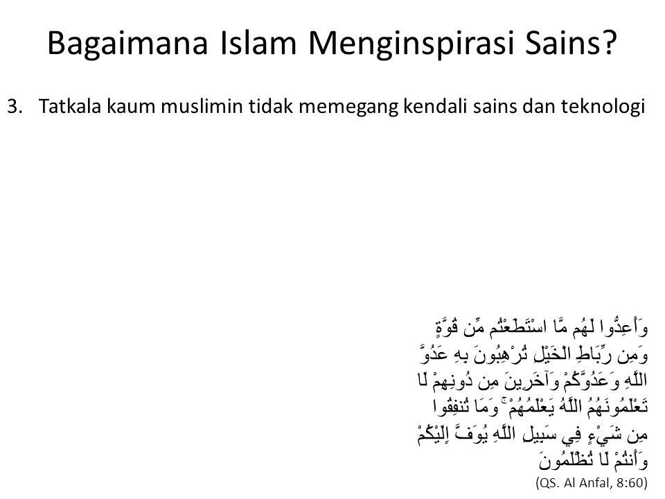 Bagaimana Islam Menginspirasi Sains. 3.
