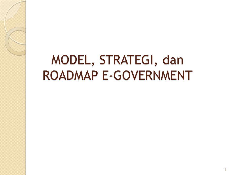 2.2.Bidang-Bidang Prioritas e-Government di Negara Berkembang – lanjutan..