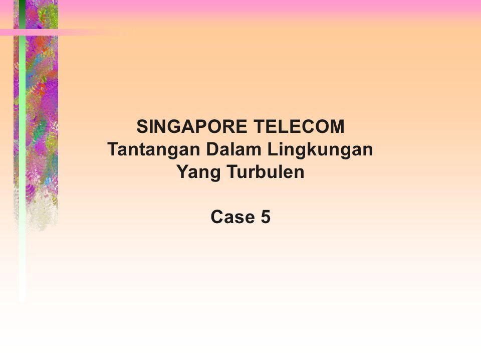 SINGAPORE TELECOM Tantangan Dalam Lingkungan Yang Turbulen Case 5