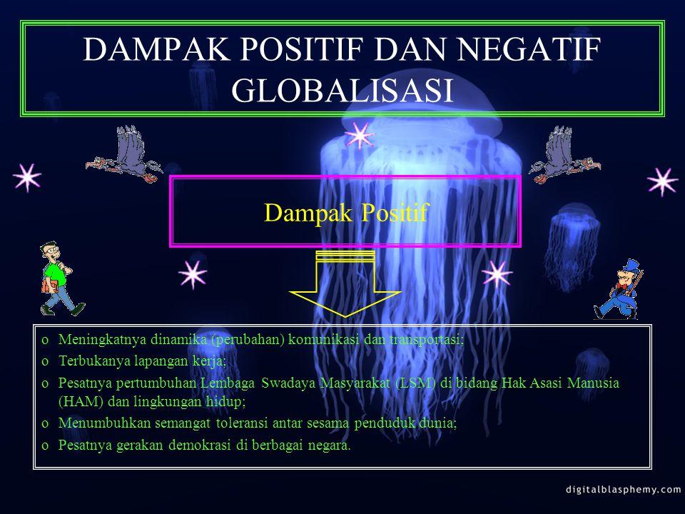 POLITIK LUAR NEGERI INDONESIA DALAM HUBUNGAN INTERNASIONAL DI ERA GLOBALISASI Politik Bebas-Aktif oBoBebas, artinya Indonesia bebas menentukan sikap d
