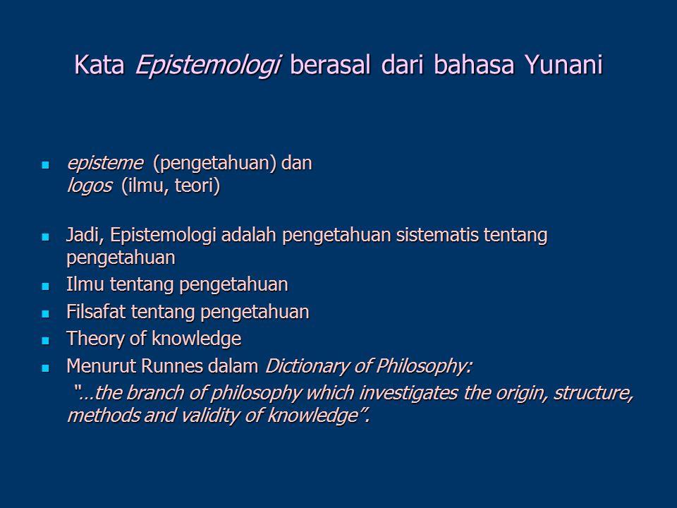 CABANG-CABANG FILSAFAT METAFISIKA METAFISIKA EPISTEMOLOGI EPISTEMOLOGI AKSIOLOGI AKSIOLOGI ETIKA ETIKA LOGIKA LOGIKA FILSAFAT KHUSUS: FILSAFAT ILMU, F