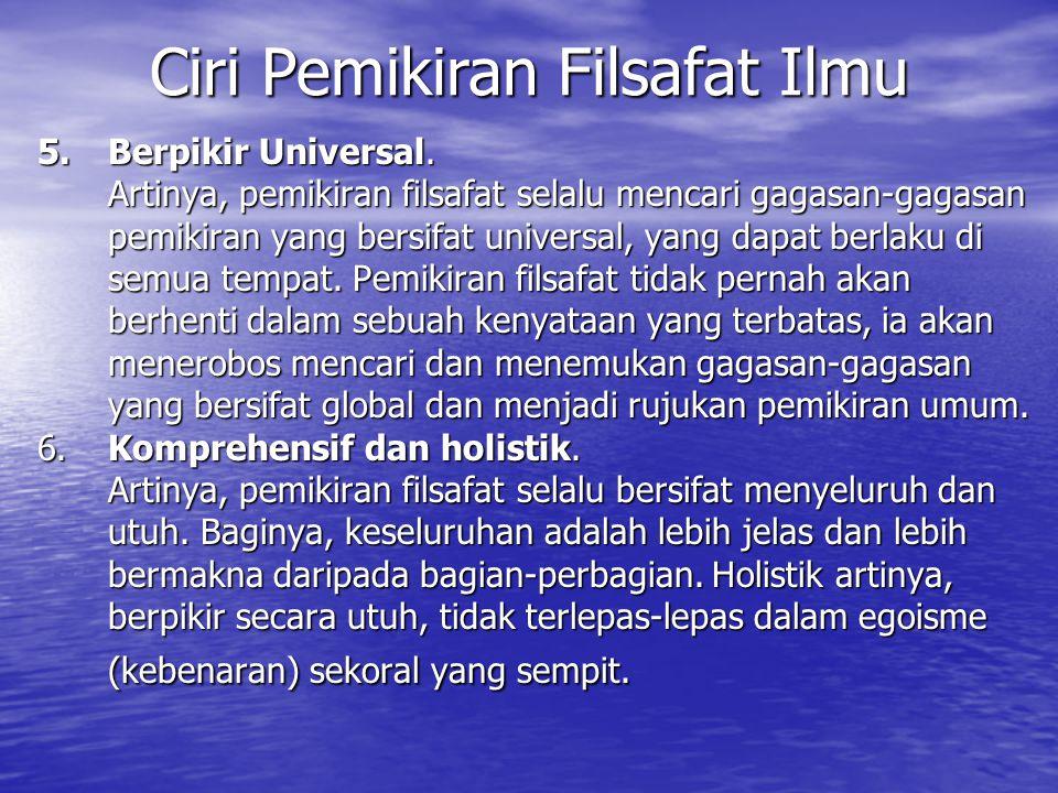5.Berpikir Universal.