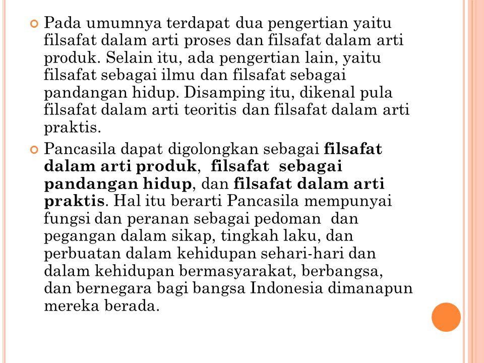 IMPLEMENTASI PANCASILA SEBAGAI DASAR NEGARA Pencasila adalah dasar negara Kesatuan Republik Indonesia.