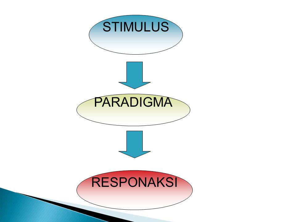 STIMULUS PARADIGMA RESPONAKSI